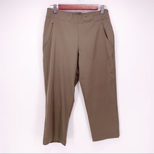 Nike Golf Dri-Fit Straight Zip Back Crop Pants